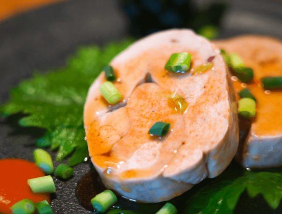 【あん肝ポン酢】レシピ動画:低温調理レシピ