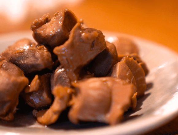 【砂肝のウスターソース煮】レシピ動画:BONIQ低温調理レシピ